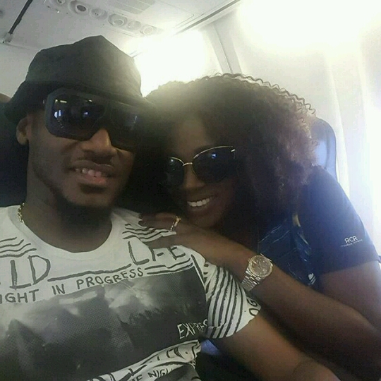 2Face and Annie Jet Out
