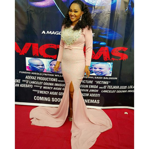 Mercy Aigbe Gentry Private Movie Screening7