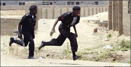 Policemen Lynched