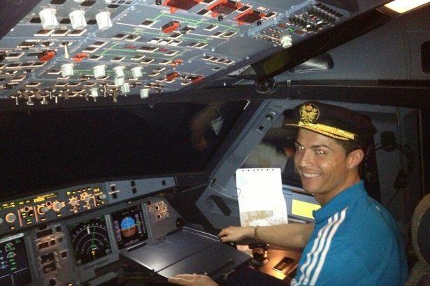 Ronaldo Private Jet1