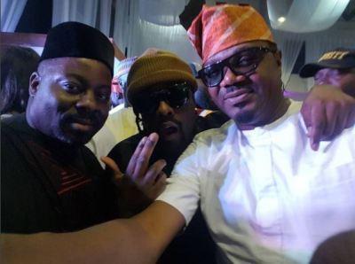 Obi Asika, Wale and DJ Jimmy Jatt