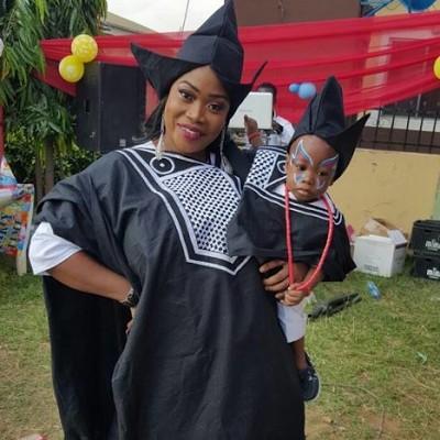 Bimbo Akinsanya Son's Day