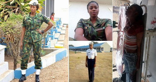 bodies dead Female soldiers