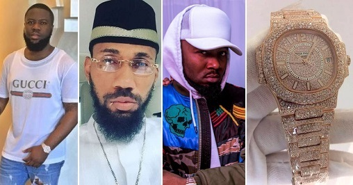 Here's the N40m Patek Watch that caused the war between Hushpuppi