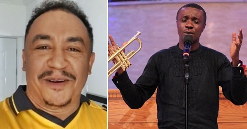 Daddy freeze comes for the #HallelujahChallenge
