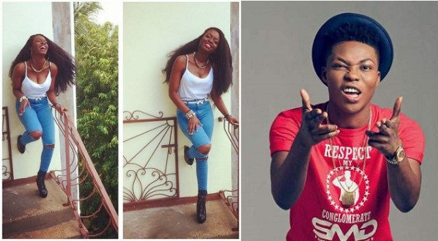 """I'm Pressing Her Breasts"" – Reekado Banks Says As He Squeezes Girlfriend's Boobs."