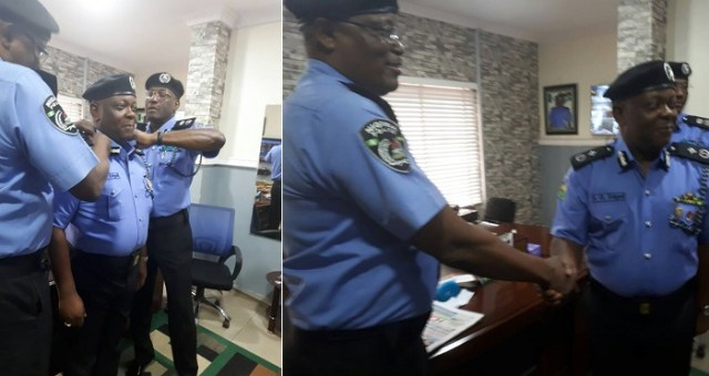 In Photos: New Lagos Commissioner Of Police, Imohimi Edgar, Assumes Office.