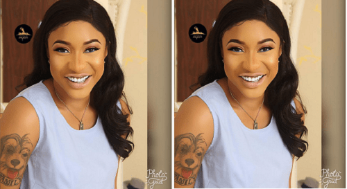 tonto dikeh pays tribute, Interview Churchill granted