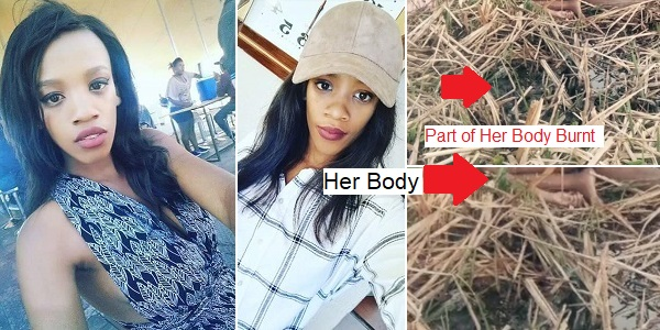 Beautiful 21-year-old Lady brutally raped, burnt & murdered in South Africa