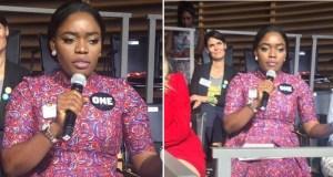 Bisola Addresses United Nations
