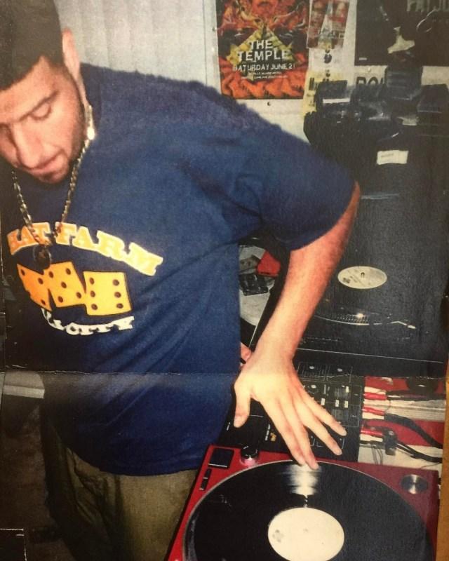 Throwback Photos DJ Khaled