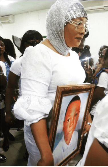 Eucharia Anunobi pays emotional tribute