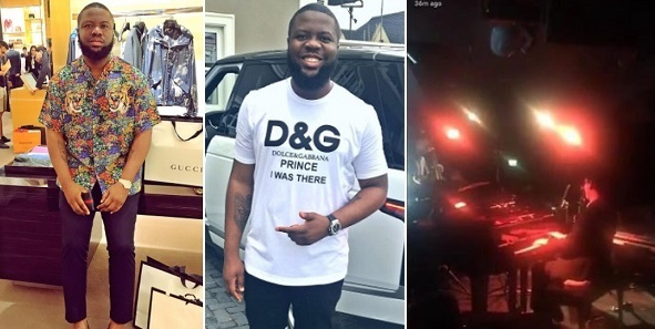 Nigerian big boy calls out Hushpuppi, for lying he was at VIP section of an Event