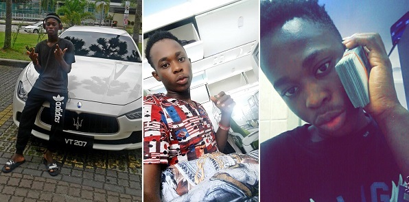 16-year-old Malaysian-Based Nigerian boy buys a N30m car, flaunts his wealth
