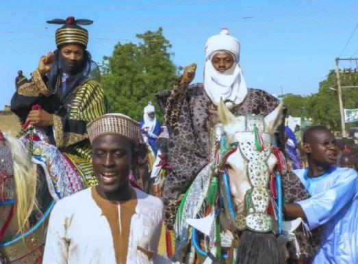 Korede Bello Goes Horse Riding