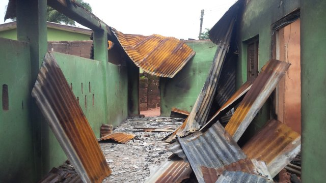 IPOB members set mosque ablaze