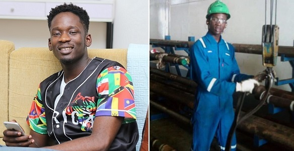 Mr Eazi shares throwback picture