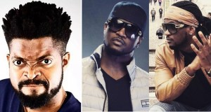 basketmouth reacts psquare's viral fight video
