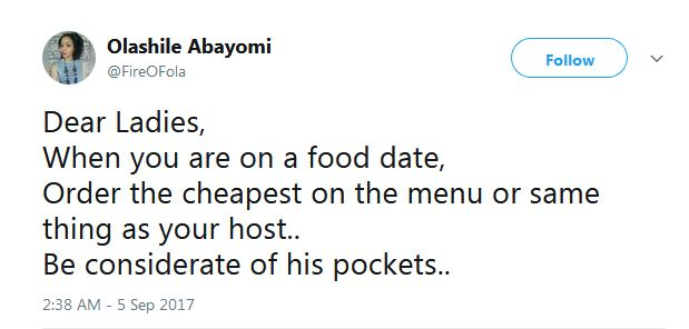 Nigerian Lady Tells Women