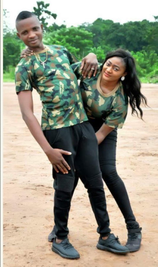 Nigerian Military Couple