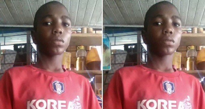 Nigerian Father Allegedly Sends Young Son Away From Home For Featuring In Football. (Photo)