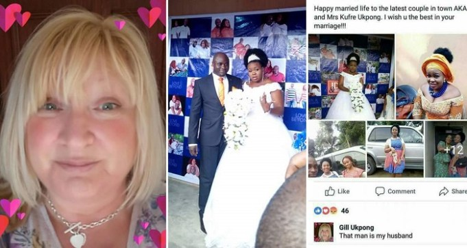 """""""That Man Is My Husband!"""" – British Lady Says She's The Legal Wife Of A Nigerian Man Who Got Married To Another Woman In Akwa Ibom Yesterday."""