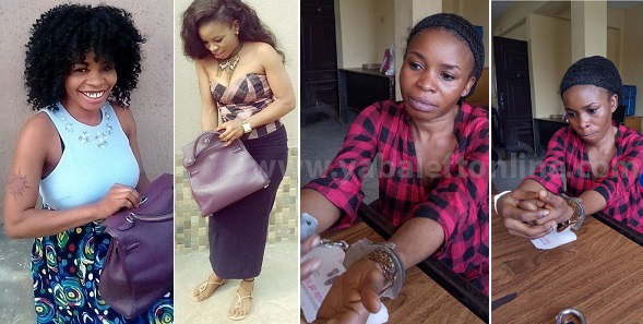 Abuja based slay queen steals