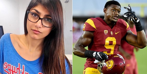 Porn Star Tries Flirting With Rising Football Star On Twitter, It Then Backfires.