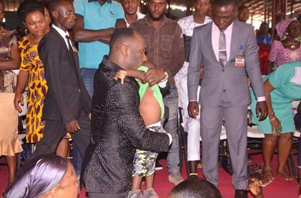 Apostle Suleman raises dead child