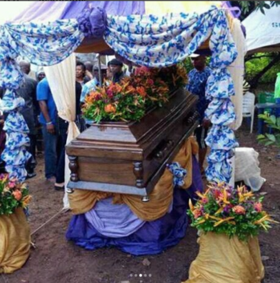Tagbos Burial 02 - Photos from Tagbo's Burial Davido's Friend