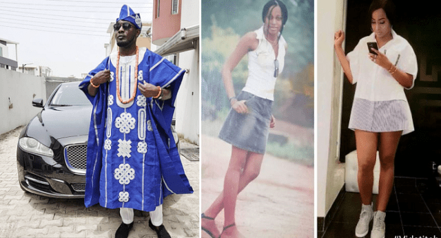 """Gist: Nigeria Comedian Ayo Makun Posted Throwback Photos Of His Wife, Says """"with different shades"""""""