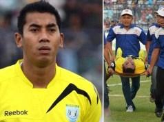 goalkeeper dies