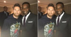 JJ Okocha Lionel Messi