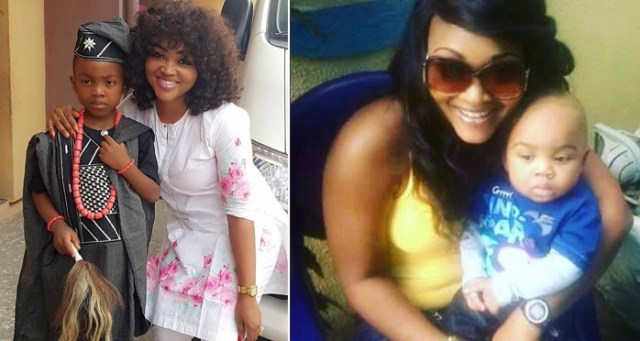 mercy aigbe's throwback photo