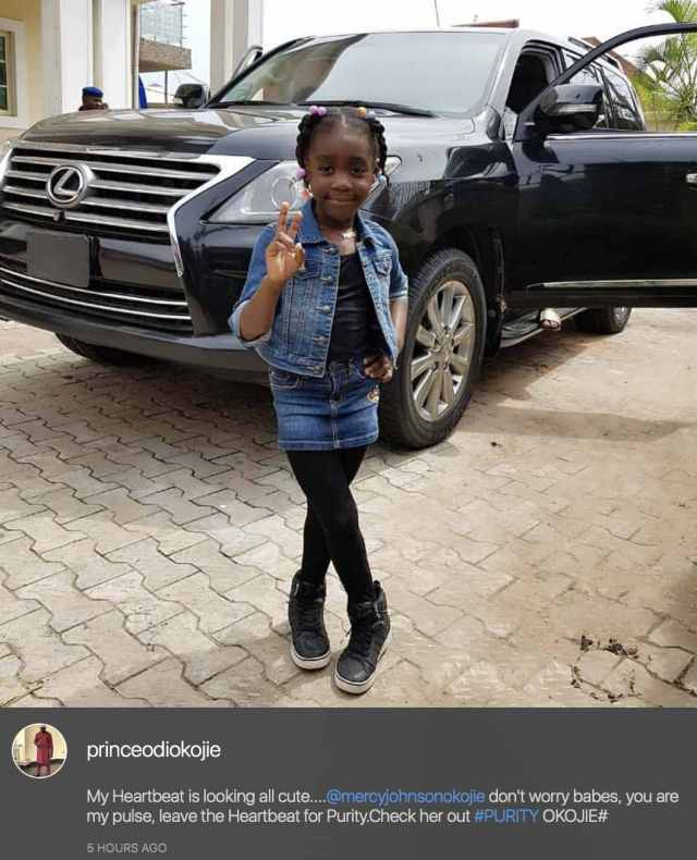 Mercy Johnson Releases Evidence