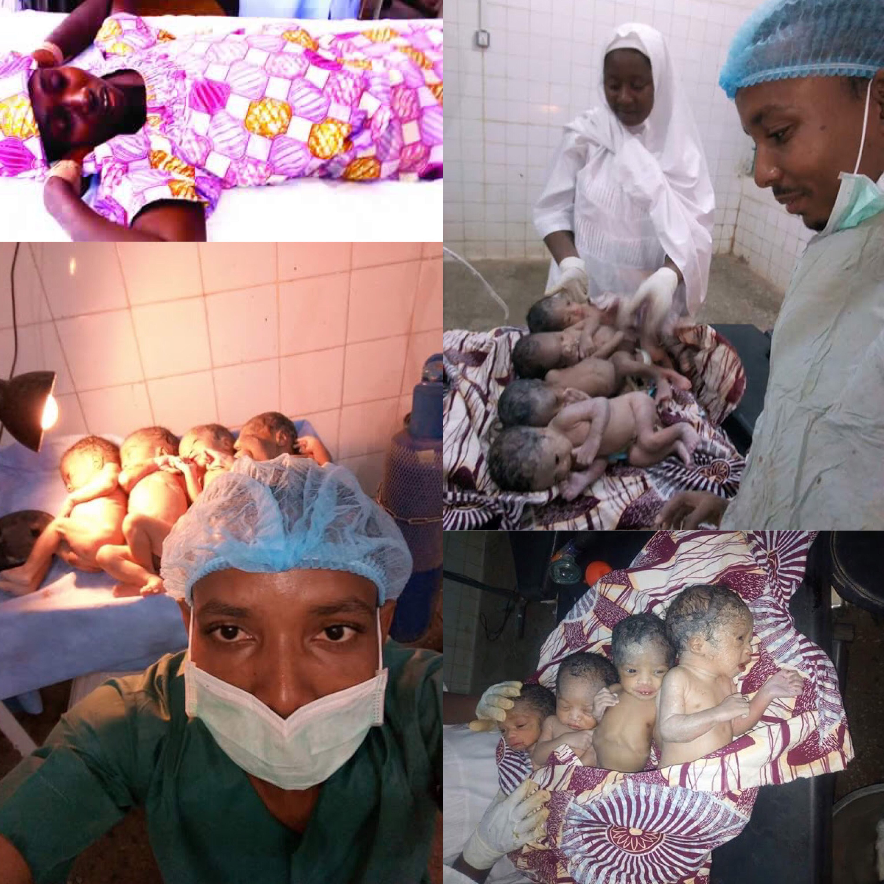 Sad: Woman Dies After Giving Birth To A Set Of Quadruplets In Kastina