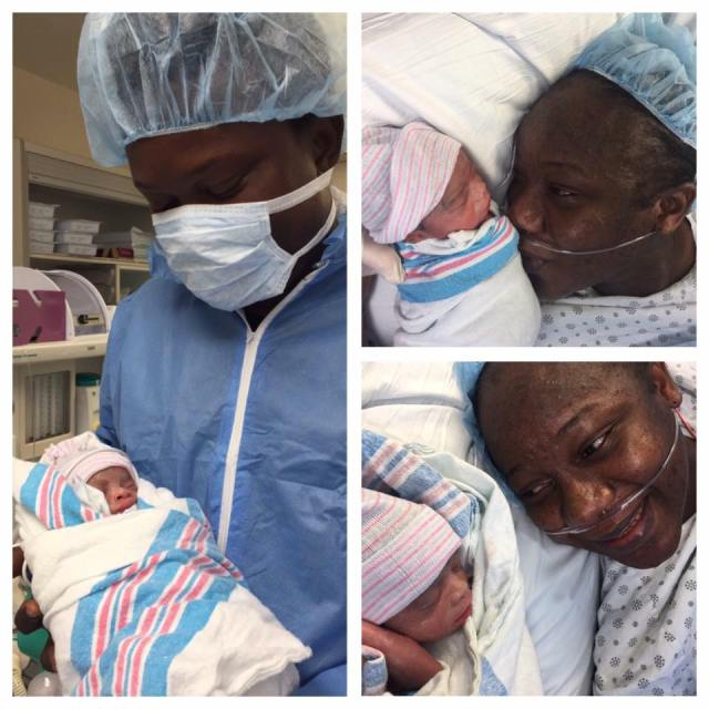 Nigerian Man Welcomes Triplets