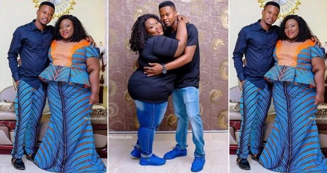 nigerian man's plus-sized fiancee