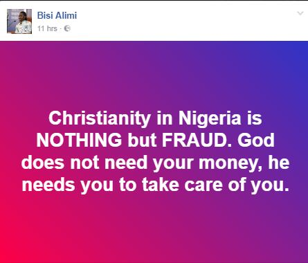 """Bisi Alimi - """"This man is irresponsible and vile"""""""