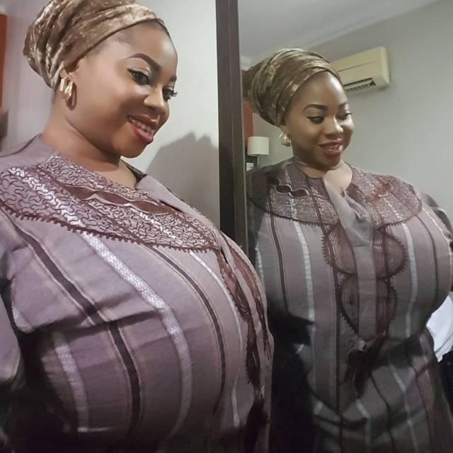 Blom 01 - Nigerian lady's gigantic boobs cause stir on Instagram (Photos)