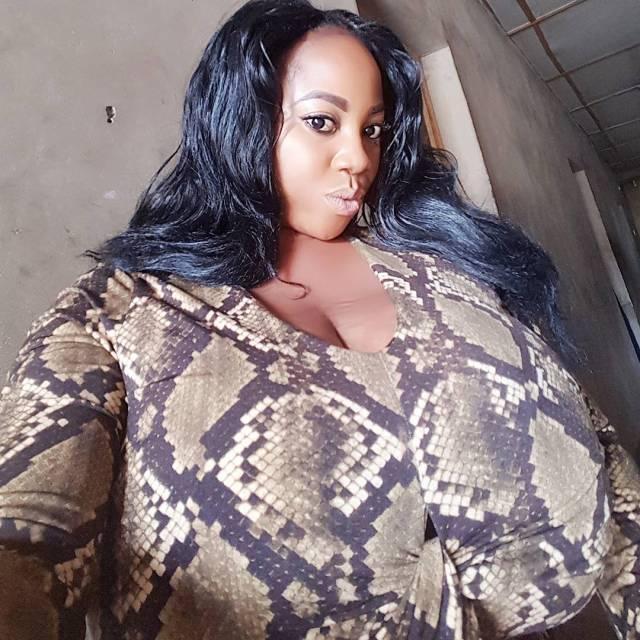 Blom 03 - Nigerian lady's gigantic boobs cause stir on Instagram (Photos)