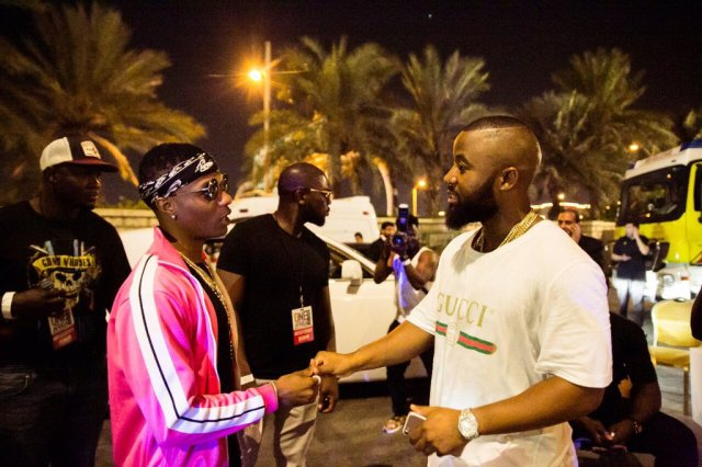 Wizkid tells Beautiful Lady