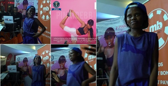 Pinki Debbie breaks Guinness World Record