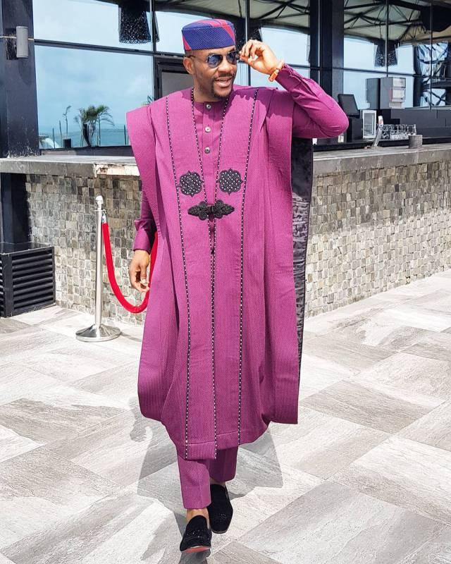 Ebuka Agbadas 0 - Because Ebuka's agbada costs N280,000 to make… Nigerian tailors are already re-creating a cheaper one