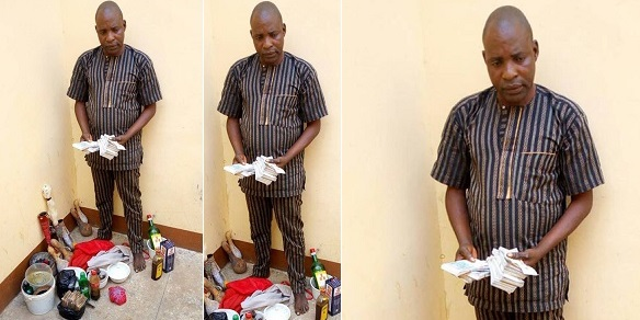 Herbalist arrested