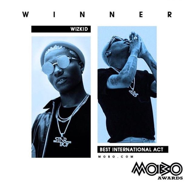 Former President, Goodluck Jonathan Congratulates Wizkid On His MOBO International Win