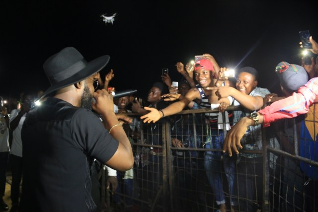 IMG 8078 - Yikes! Fans Startled as Falz and Dremo Storm Coke Studio Concert