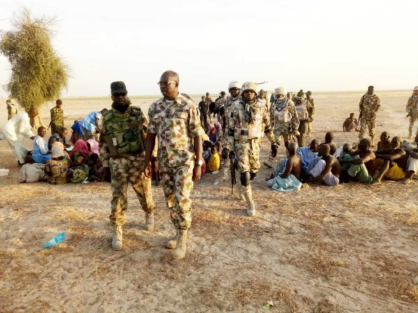 Nigerian Army Rescues Captives