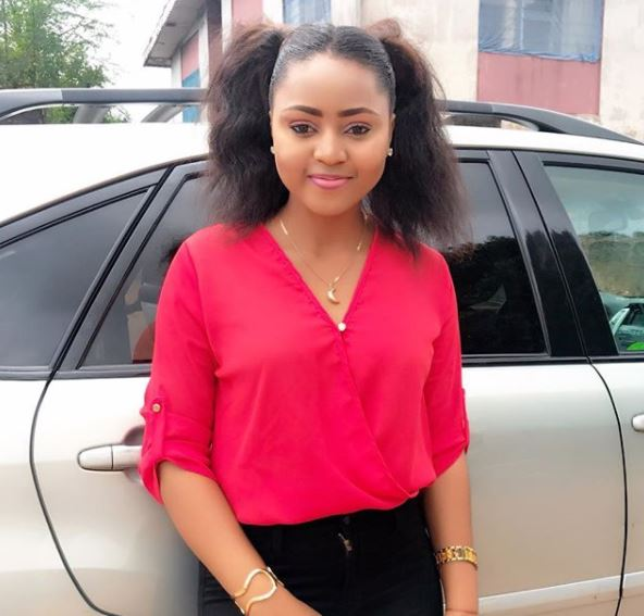 Regina Daniels and brother involved in an accident on Christmas eve