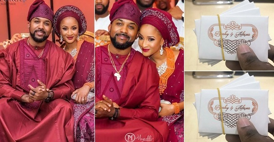 First photo of the access card required to gain access into Banky W and Adesua's traditional wedding tomorrow